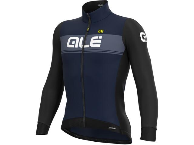Alé Cycling PR-S Logo DWR Maillot À Manches Longues Homme, navy blue/black